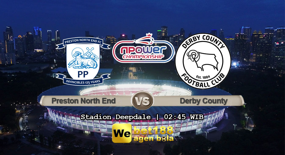 Prediksi Bola Preston North End vs Derby County 2 Februari 2019